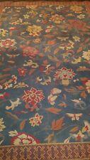 Kelim gewebt Tapisserie Floral China Tibet Flat woven tapestry 236*163 cm