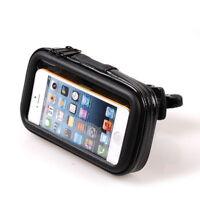 Waterproof Bike Bicycle Motorcycle Handlebar Mount Holder Case For Apple iPhone
