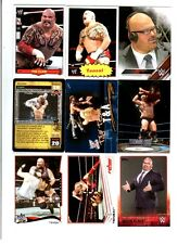 Albert / Tensai Wrestling Lot of 9 Different Trading Cards 1 Insert WWE TNA A-A1