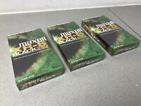 MAXELL S-VHS BLACK 240 - Super VHS master grade VCR Tapes 3 X sealed & NEW