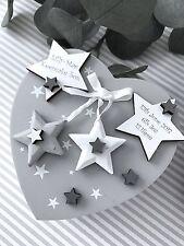 Personalised Baby Heart Trinket Birth Christening Gift Keepsake Memory Box B25