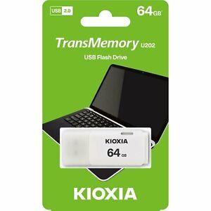 Clef USB 64Go TOSHIBA KIOXIA HAYABUSA cle USB 64 Go USB 2.0 clé USB TransMemory