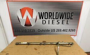 """2009 Detroit DD15 """"901"""" Fuel Rail , Part # A47200780145. Good Used Part"""