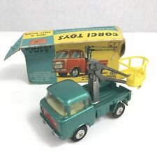 Corgi Toys 478 Hydraulic Tower Wagon Forward Control Jeep Boxed Box A/F Damaged