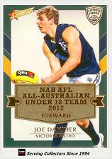 2012 Select AFL Future Force Cards All Australia Team Card AA17 Joe Dahiher
