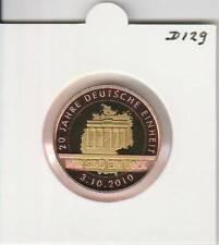 Deutschland 2010 : 20 Jahre Deutsche Einheit (d129) bimetal
