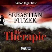 "SEBASTIAN FITZEK ""DIE THERAPIE"" 4 CD BOX NEW"