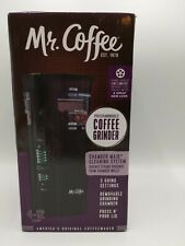 Mr. Coffee IDS77 Blade Grinder - Black. Coffee Mill, 4–12 Cups, 3 Grind Settings