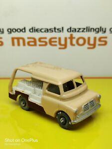 MATCHBOX LESNEY No.29a Bedford Milk Float Truck MW. Original vintage diecast