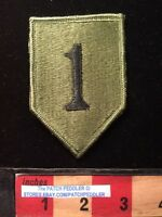 MILITARY PATCH US Army - First / 1st Infantry ~ Subdued. 62U5