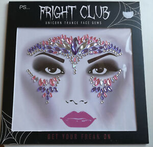 Face Gems Party Cosplay Range of Styles/ Colours BNWT