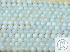 Moonstone Natural Gemstone Round Beads 8mm Jewellery Making (47-50 Beads)