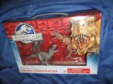 JURASSIC WORLD Dinosaur Figure Set UNIVERSAL STUDIOS Exclusive ~Indominus Rex/T