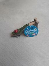 Rustic Ladybird Leaf Slide for Fairy / Elf Garden Enchanted Corner New With Tags