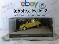 "DIE CAST "" CITROEN 2CV FOR YOUR EYES ONLY "" 007 JAMES BOND SCALA 1/43"