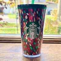 Starbucks 2019 Holiday Confetti Tumbler Cup 16 oz