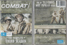 COMBAT! Complete 3rd Season * NEW & SEALED * 8-DVD Set Region 0 (Plays on ANY Pl