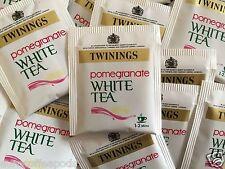 Twinings Pomegranate White Tea 100 Individual Envelope Teabags