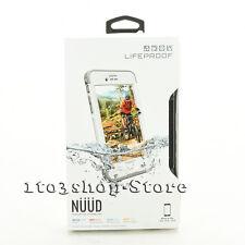 LifeProof nuud iPhone 6s Plus Waterproof Water shockProof hard Case White NEW