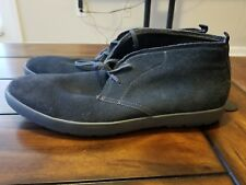 16012b1af4d Calvin Klein Jae Gray Suede Chukka Boots Mens Shoes SIZE 13