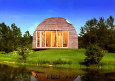 MOON HOUSE 20' DIAM DOME 300 sq.ft -505 sq.ft STRUT FRAMING KIT WOOD PREFAB DIY