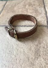 Tory leather Bracelet Horse Name Plate Style