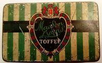 Vintage Maison Lyons Toffee Tin, Green, Cream, Black, Red  - J Lyons & Co  Ltd