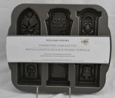 Williams Sonoma Pottery Barn Tombstone Cakelet Pan Cupcake Halloween Nordic Ware