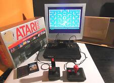 ATARI 2600 Console completa di cavi,jostick e box + 2° joistick e 2 giochi