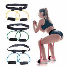 Women Booty Bands Adjustable Waist Belt Pedal Exerciser Body building Fitness~