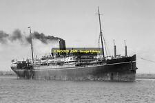rp11651 - Eastern & Australian Liner - Tanda , built 1914 - photo 6x4