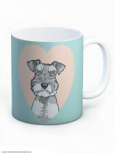 Mug Tea Coffee Cup Cute Schnauzer Dog Lovers Novelty Birthday Xmas Gift Present