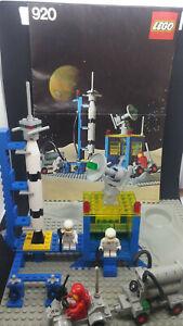 Lego vintage espace space classic n°920 complet + notice + plaque