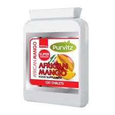 Mango Africano Ultra 6000mg Mese Scorta Vegetariani Friendly 120 Compresse in UK