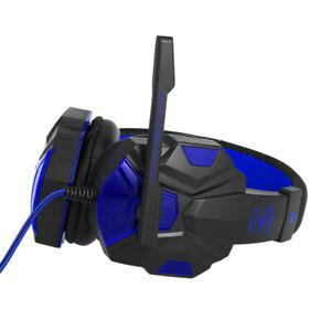 Cuffie Gamer Da Gioco Con Microfono A Led Usb Cuffia Gaming Pc Console Xbox
