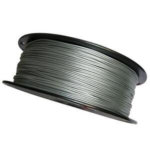 Silver 3D Printer Filament Metal PLA 1.75mm 1KG Spool Printing Material PLA New
