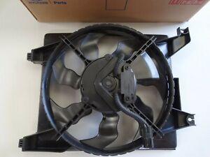 AC Condenser Fan Assembly For Hyundai Accent 2006-2011 1.6L Genuine 97730-1E000