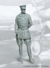 Black Dog 1/32 British RFC Fighter Pilot 1914-18 WWI No.2 Officer w/Stick F32014