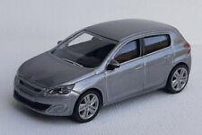 Norev 3 inches 1/64. Peugeot 308 gris artense   Neuf en boite