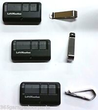 3-Pack Liftmaster 893MAX 3 Button Visor Remote Control Garage Door Opener