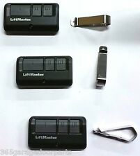 3-Pack Liftmaster 893MAX 3 Button Visor Remote Control Garage Door Opener