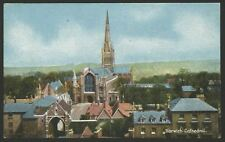 "Norfolk. Norwich. Norwich Cathedral. 1917 Postmark ""Christian Novels"" Postcard"