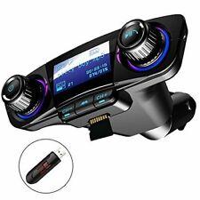JINSERTA E3181 Bluetooth Transmetteur FM de Voiture - Noir
