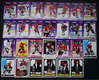 1991-92 Score American Chicago Blackhawks Team Set of 32 Hockey Cards W/ Traded