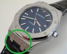 End link fit Audemars piguet royak oak 41mm model..leather straps conversion kit