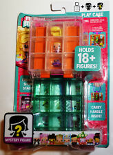 My Mini Mixie's Play Case Holds 18+ Figures + Mystery Figure-FREE US Shipping