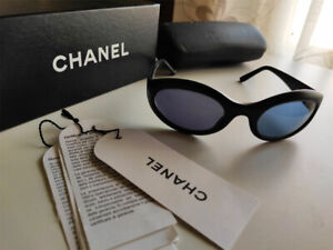 CHANEL 5017 Occhiali da sole vintage originali Colore nero opaco Sunglasses Coco