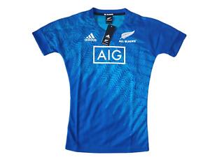 adidas All Blacks Trikot Training Herren Größe XS XL -NEU- DY3813 Rugby Jersey