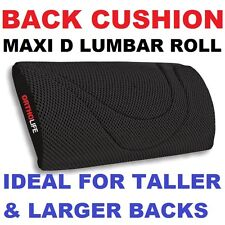 MAXI D BACK LUMBAR ROLL CUSHION seat true support  car belt  posture stretcher