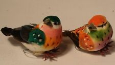 Item #10 Artificial Birds for Floral Arrangments or decorations. (Set of 12)